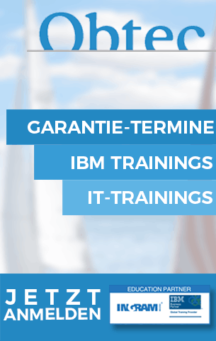 Obtec - IBM & IT-Trainings mit Garantie-Terminen